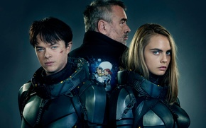 Картинка cinema, girl, man, boy, sci-fi, movie, series, film, armour, oppai, scar, Cara Delevingne, TV series, …