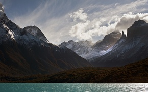 Картинка Чили, Национальный парк Торрес-дель-Пайне, Lake Pehoé