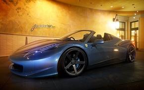 Картинка машина, Ferrari, Jackdarton, Italia spyder