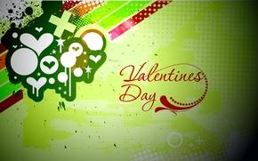 Обои стиль, вектор, Valentine's day, день святого валентина, любовь, Urban style, краска