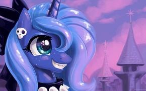 Картинка цвета, luna, my little pony, pony, mlp, princess luna