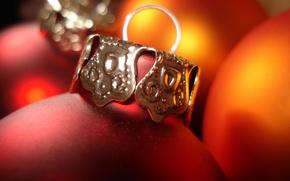 Картинка украшения, шары, игрушки, новый год, рождество