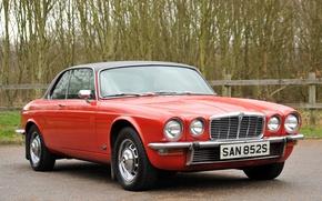 Картинка Jaguar, Красный, 1978, Купе, Классическое авто, XJ6C, Series II