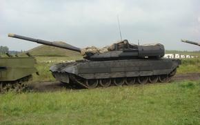 Картинка полигон, Танки, боевые действия, российское вооружение