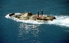 Обои БТР-80, б/м - 635, русское плаванье