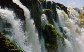 Картинка брызги, водопад, Бразилия, Brazil, amazon, Tumuc-Humac