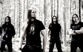 Картинка Metal, Rock, Music, hair, look, Finland, Melodic Death Metal, Heavy, insomnium, Finish, band_members