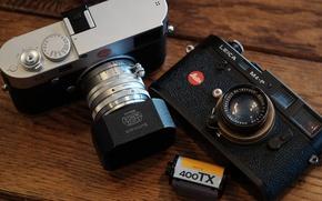 Картинка объектив, плёнка, фотоаппараты