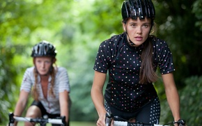 Картинка спорт, mountain bikes, велосипедистки
