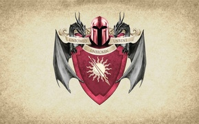 Картинка sun, symbol, series, dragon, A Song of Ice and Fire, Game of Thrones, shield, Martell, …