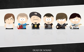 Картинка Рисунок, South Park, Metalcor, Dead de Sound, DDS