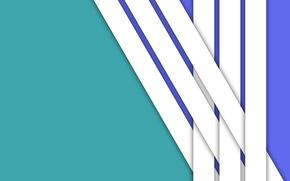 Картинка белый, линии, синий, голубой, material