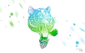 Картинка глаза, тигр, tiger, принт, parallels, prlls