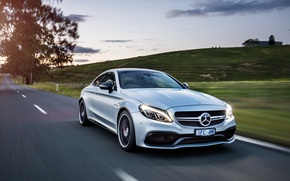 Картинка Mercedes-Benz, Coupe, C-Class, мерседес, AMG, C205