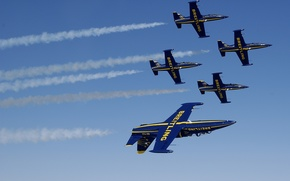 Картинка самолет, Jet, Breitling, Breitling - Jet Team, L-39 Albatros