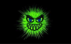 Картинка монстр, зубы, Ночной кошмар