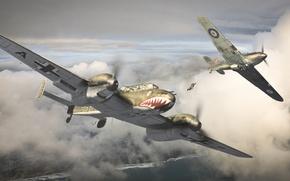Картинка небо, Самолет, бомбардировщик