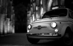 Картинка Фиат, Ретро, Машина, Retro, Fiat 500, Gran Turismo