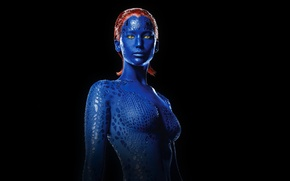 Обои Люди Икс: Дни минувшего будущего, X-Men: Days of Future Past, Mystique, Jennifer Lawrence, Дженнифер Лоуренс