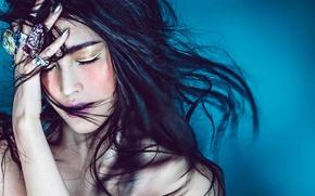Картинка Asian, model, Sui He, VICTORIA'S SECRET