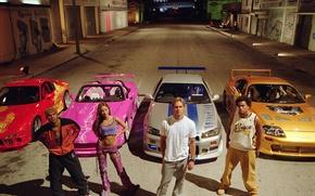Картинка Пол Уокер, Nissan Skyline, Paul Walker, Toyota Supra, Brian O'Conner, Slap Jack, Амори Ноласко, Orange …