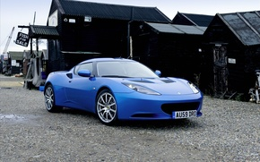 Обои лотус, cars, тачки с машинами, lotus evora 2010 widescreen