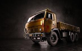 Картинка грузовик, рендер, Камаз