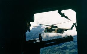 Обои оружие, вертолет, Вьетнам, Война