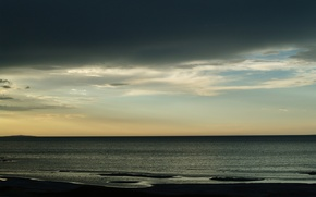 Обои море, небо, облака