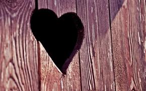 Картинка макро, сердце, дверь