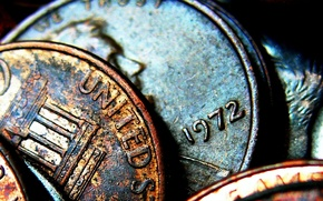 Монеты, старые, деньги обои
