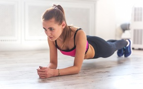 Картинка woman, workout, fitness, endurance, stretching