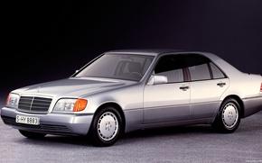 Картинка Mercedes-Benz, w140, s320, dorest