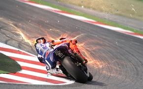 Картинка Yamaha, YZR-M1, Moto, Хорхе, Lorenzo, Jorge, Лоренсо