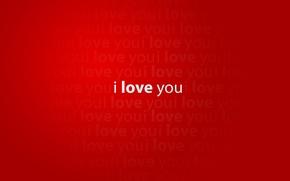 Обои красный, i love you, red, креатив, любовь, words creative pictures, mood, слова