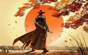 Картинка sword, fantasy, man