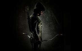 Обои Green Arrow, Arrow, DC Comics, Оливер Куин, Стрела, Зелёная Стрела, Stephen Amell, Oliver Queen, Стивен ...