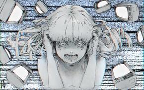 Картинка #аниме, #рисунок, #девушка, #vocaloid, #echo