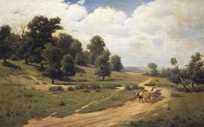 Картинка картина, Васильковский, Украинский пейзаж