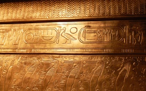 Картинка египет, Тутанхамон, гробница, иероглифы
