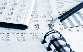 Картинка paper, pens, economy, calculator, finance costs