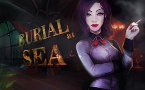Картинка 2K Games, Elizabeth, Irrational Games, BioShock Infinite, Burial at Sea
