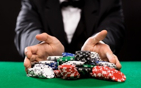 Картинка casino, cards, costumes, game table, betting