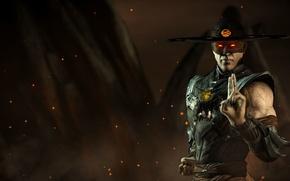 Картинка ghost, Mortal Kombat X, revenant, Kung Lao