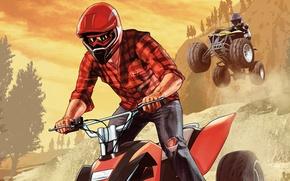 Картинка спорт, квадроцикл, Grand Theft Auto V, Rockstar Games, GTA Online