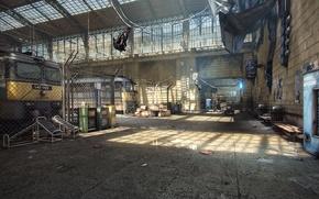 Обои рендеринг, игры, Half-Life 2, City 17, UDK, Unreal Engine, Logithx