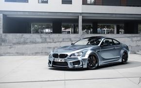 Картинка BMW, Car, Prior Design, Silver, Wheels