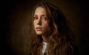 Обои макияж, портрет, Ксения Кокорева