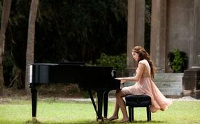 Обои Miley Cyrus, Майли Сайрус, Последняя Песня, пианино