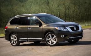 Картинка Nissan, ниссан, Pathfinder, US-spec, 2014, патфайндер, R52